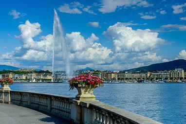 Switzerland-Geneva-Jet d'Eau