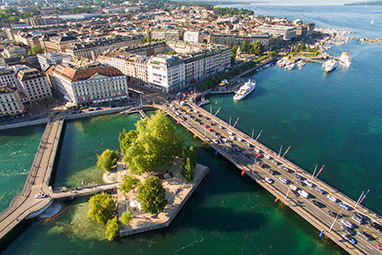 Switzerland-Geneva-Νησάκι του Rousseau