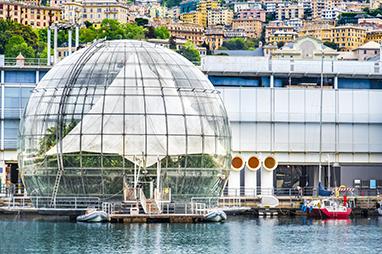 Italy-Genoa-Aquarium of Genoa