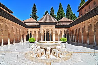 Spain - Granada - Patio de Los Leones