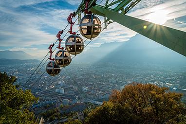 France-Grenoble-Τελεφερίκ