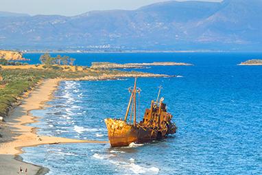 Gytheio-Peloponnese-Ναυάγιο «Δημήτριος»