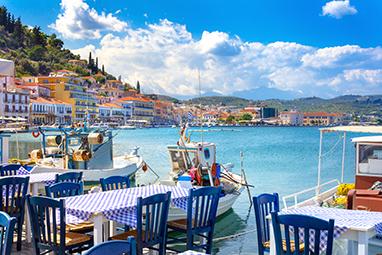 Gytheio-Peloponnese-Ταβέρνακια στην θάλασσα