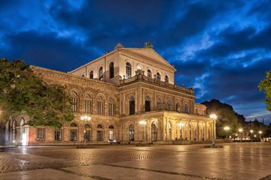 Germany- Hanover - Όπερα του Ανόβερου