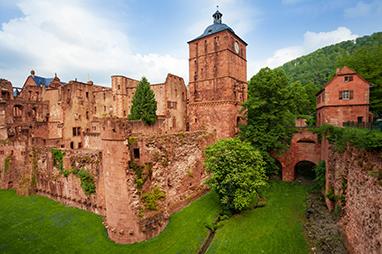 Germany- Heidelberg - Κάστρο της Χαϊδελβέργης