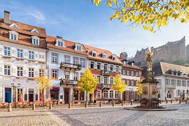 Germany- Heidelberg - Hauptstrasse