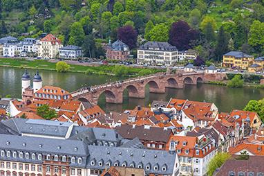 Germany- Heidelberg - Γέφυρα του Karl Theodor