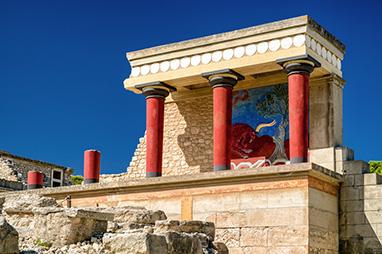 Crete - Heraklion - The Palace of Knossos