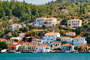 Ionian - Ithaca - Stroll around Vathy