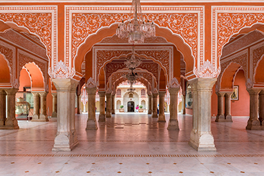 India-Jaipur-Το παλάτι της πόλης
