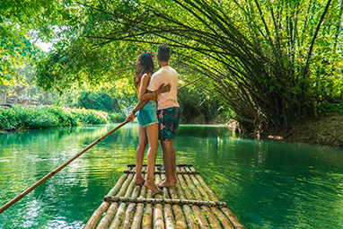 Kingston-Jamaica-Rafting στην Martha Brae