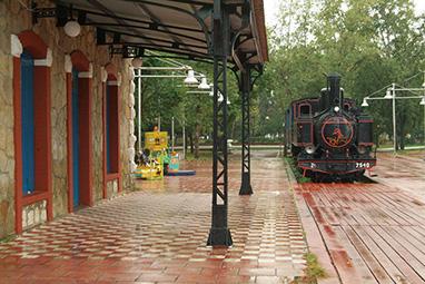 Peloponissos-Kalamata-Outdoor railwaypark