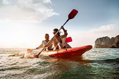 Messenia-Kardamyli-Kayak θαλάσσης