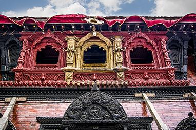 Nepal-Kathmandu-Jagannath Temple