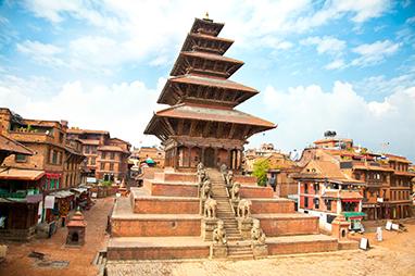 Nepal-Kathmandu-Nyatapola Temple