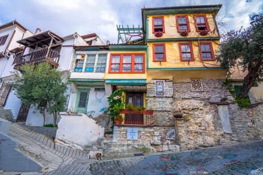 Macedonia - Kavala -Old Town