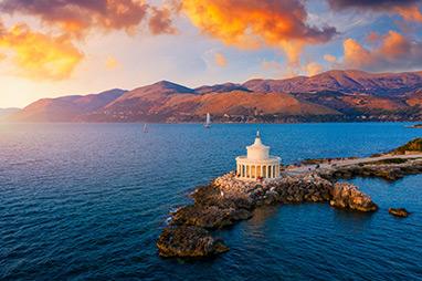 Ionian - Kefalonia - Lighthouse of Saint Theodoroi