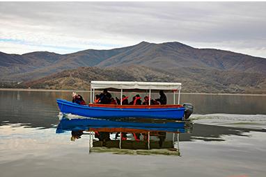 Greece-Kerkini-Βαρκάδα στην λίμνη