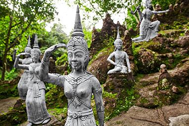 Thailand-Koh Samui-Μυστικός Κήπος του Βούδα