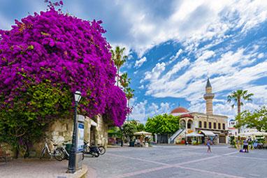 Dodecanese - Kos -  Eleftherias (liberty) square