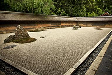 Japan-Kyoto- Ryōanji (ειρηνικός ναός δράκων)