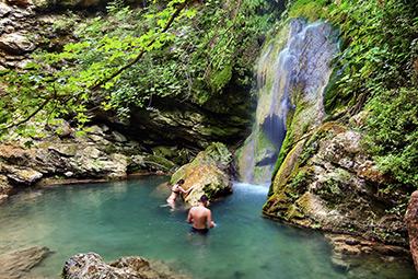 Ionian - Kythira - Waterfalls