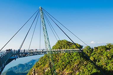 Malaysia-Langkawi-Γέφυρα Sky Langkawi