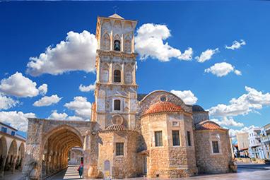 Cyprus-Larnaka-Holy Temple of Saint Lazarus