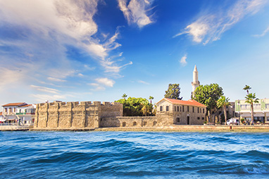 Cyprus-Larnaca-Castle