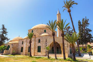 Cyprus-Larnaca-Hala Sultan Tekke Mosque