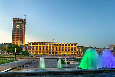France-Le Havre-To Δημαρχείο και η πλατεία της Χάβρης