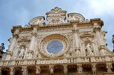 Italy - Lecce - Basilica di Santa Croce