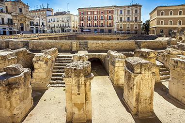 Italy - Lecce - Piazza Sant'Oronzo