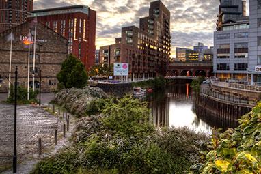 United Kingdom-Leeds-Granary Wharf