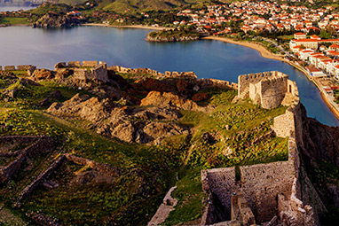 North Aegean Islands - Lemnos - Castle of Myrina