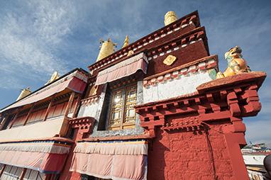 Tibet-Lhasa-Ramoche Temple