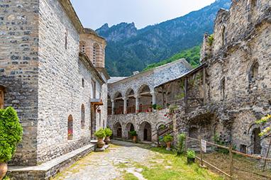 Litochoro-Holly Monastery of Agios Dionysios