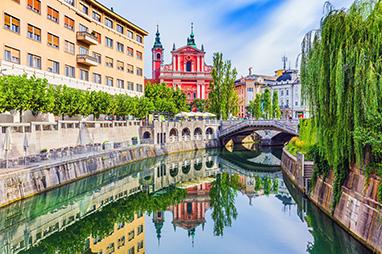 Slovenia - Ljubljana - Old Town
