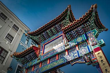 England - London - London's Chinatown