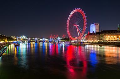 England - London - The London Eye