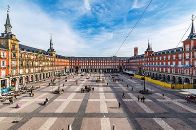 Spain-Madrid-Plaza Mayor