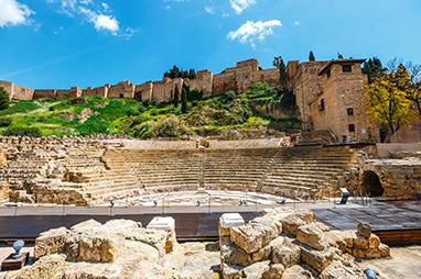 Spain-Malaga-Ρωμαϊκό θέατρο
