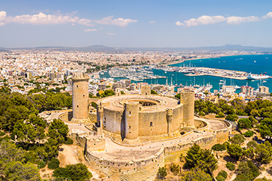 Spain-Mallorca-Castell de Bellver