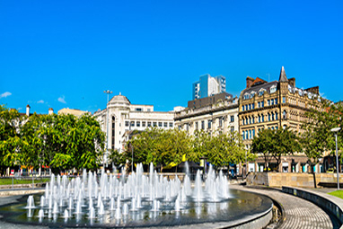 England - Manchester - Picadilly Gardens