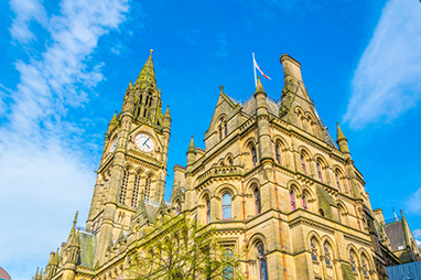 England - Manchester - Town Hall of Manchester