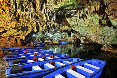 peloponissos-mani-Diros Cave