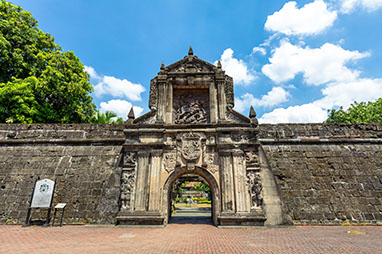 Philippines - Manila - Santiago Fortress