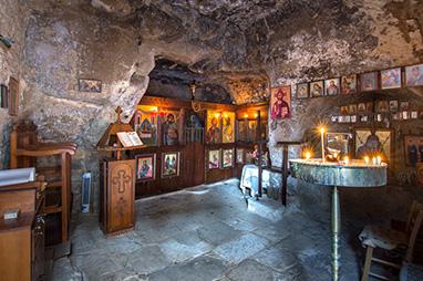 Crete - Matala - Church of the Virgin Mary