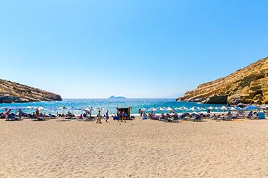 Crete - Matala - Matala Beach