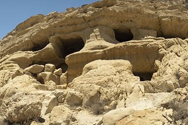 Crete - Matala - The caves of Matala